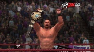 """WWE 2K14"" How-To: ""Stone Cold"" Steve Austin Vs. The Rock"