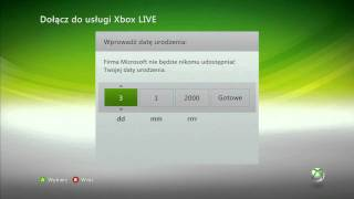 Poradnik Zakładanie Konta Xbox LIVE