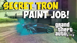"GTA 5 Online: Amazing ""TRON PAINT JOB"" Paint Colors For"