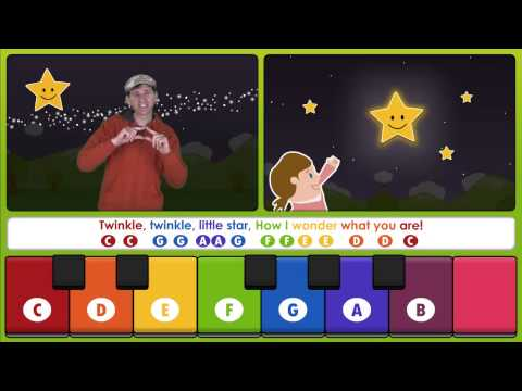 Twinkle Twinkle Little Star from the Play, Sing &amp; Share iPad App