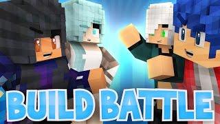 Boys VS Girls: Travis Arrives! | Minecraft Build Battle