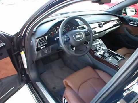 2012 Audi A8-L 4.2 Start Up, Exterior/ Interior Review