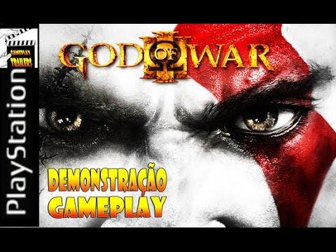 God Of War 3 - Gameplay Demonstração - Comentado Pt-Br PS3 (HD)