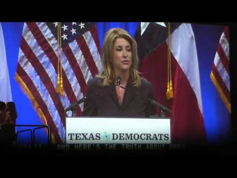 Wendy Davis accepting Democratic Nomination for Governor of Texas at Texas Democratic Convention