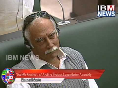 IBM NEWS_ 12th SESSION OF ASSAMBLY PROTEST ON TELANGANA BILL