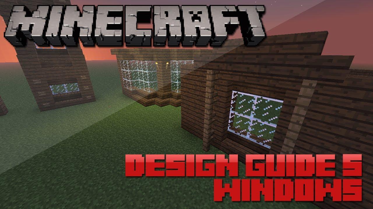 Minecraft design guide 5 windows architecture tips for Window design minecraft