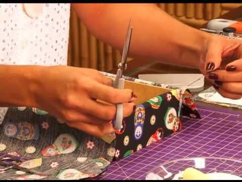Fazendo Arte - forração em tecido (26.09.13)