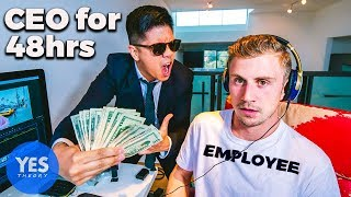 We let a Stranger Become our CEO for 48hrs...