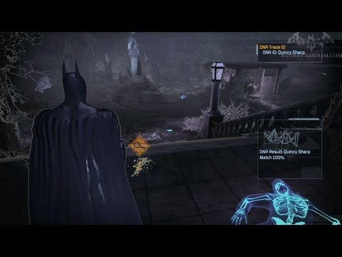 Batman: Arkham Asylum Walkthrough - Chapter 28 - Finding Warden Sharp
