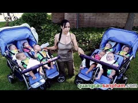 Bà mẹ trẻ vĩ đại sinh 8 đứa con cùng lúc
