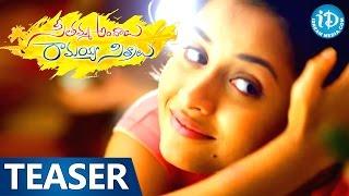 Seethamma Andalu Ramayya Sitralu Movie Teaser - Raj Tarun, Arthana
