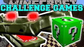 Minecraft: CRAGADILE CHALLENGE GAMES - Lucky Block Mod - Modded Mini-Game