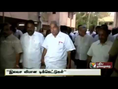 Kerala Chief Minister Announces free air ticket to stranded Keralites in Iraq
