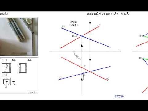 Hình học họa hình- bài 6( fb:Lớp Học Hình Họa)