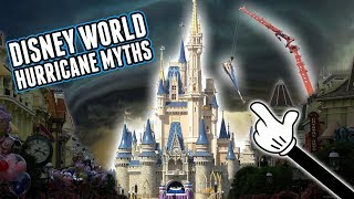 Disney Parks Hurricane Myths & What Actually Happens In The Park During Big Storms! DIStory Ep. 10