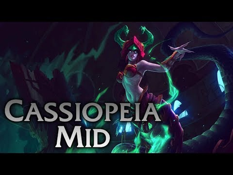 League of Legends Cassiopeia Mid Gameplay EASY WIN
