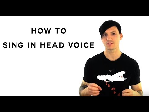 How to sing in head voice singing tips for how to sing and build