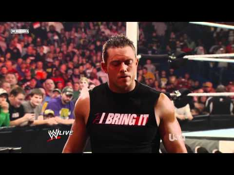 The Miz impersonates The Rock | Raw 03/14/11 | 720p HD