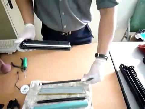 Hướng dẫn thay mực máy in Canon