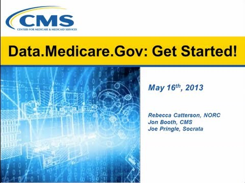 Data.Medicare.Gov: Get Started!