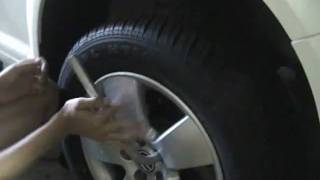 Removing Trick Lug Nut Caps To Change Tires On VWs