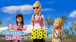 Barbie: Vítaj na ostrove! - Barbie a sestričky zachráňte psíkov