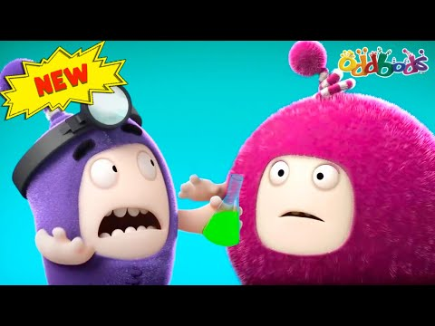 Oddbods | NEW | DOCTOR ODDLY LITTLE FIX | Funny Cartoons For Kids