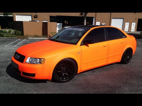 Orange Plasti Dip Car