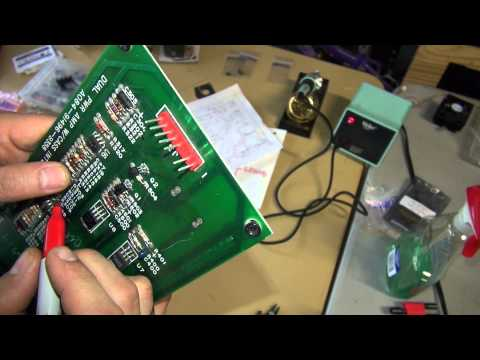 Journey Arcade Game Restore Part #12 - Dual Power Amp with Cassette Interface Repair Part 3
