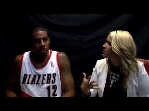 Trail Blazers Media Day 2013 - LaMarcus Aldridge