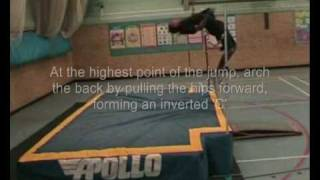 High Jump: Developing The Arch