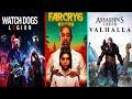 Ubisoft Forward 2020: Far Cry 6, Watch Dogs Legion, Assasins Creed Valhalla