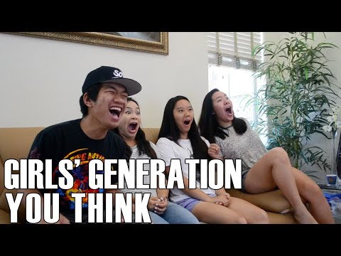 Girls' Generation (소녀시대)- You Think (Reaction Video)