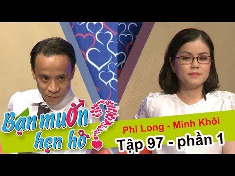 Chết cười với anh chàng mang...súng nước đi hẹn hò bạn gái | Phi Long - Minh Khôi | BMHH 97