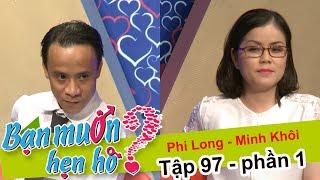 Anh chàng mang...súng nước đi hẹn hò bạn gái | Phi Long - Minh Khôi | BMHH 97 😅