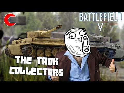 Battlefield 5 Operation: Tank Collector - Funny Moments