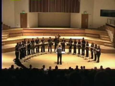 Bach Toccata – National Saxophone Choir