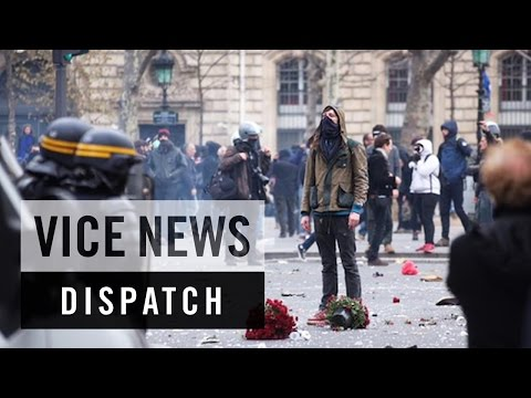 Police Clash With Protesters in Paris: COP21 - Climate Emergency