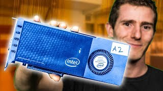 WE GOT INTEL'S PROTOTYPE GRAPHICS CARD!!
