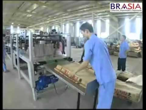Máquina para Sacos de Papel Valvulados - BRASIA e INTERMAQ