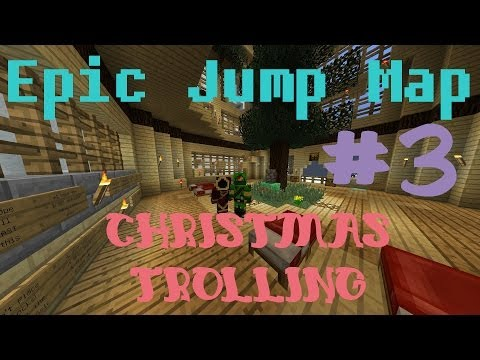 Minecraft Epic Jump Map #3 - Роже, боже, блык)