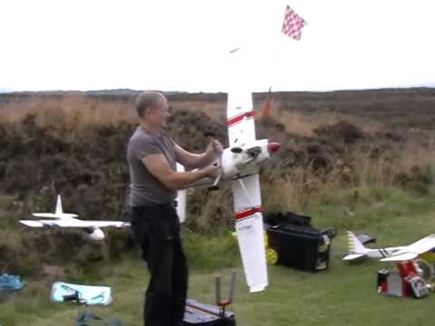 KADMAC RC Glider towing July 2014