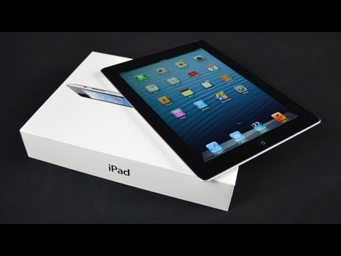 New Apple iPad (4th Generation): Unboxing and Demo