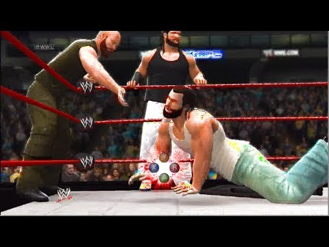 Wwe 2k14 the wyatt family vs the shield