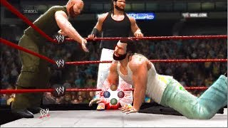 WWE 2K14: The Shield Vs Wyatt Family