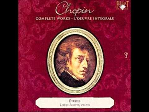Lortie Louis Etude in E flat major, Op. 10 No. 11
