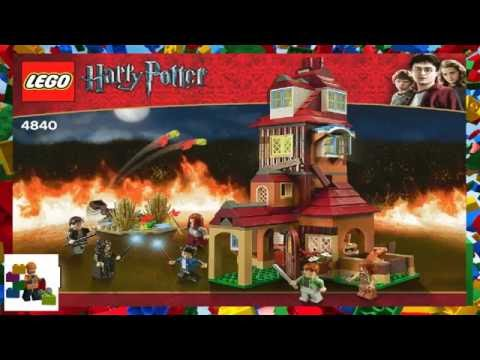 LEGO instructions - Harry Potter ™ - 4840 - The Burrow (Book 2)