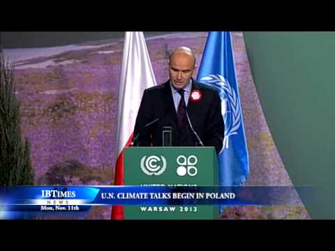 U.N. Climate Talks Begin In Poland