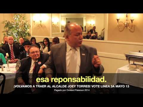 Joey Torres for Mayor of Paterson: Accountability (Spanish)