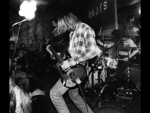 RARE Nirvana Live Love Buzz 1987 (two years before their